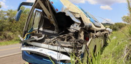 Zderzenie autobusu z ciężarówką w Brazylii.Co najmniej41 osób zginęło