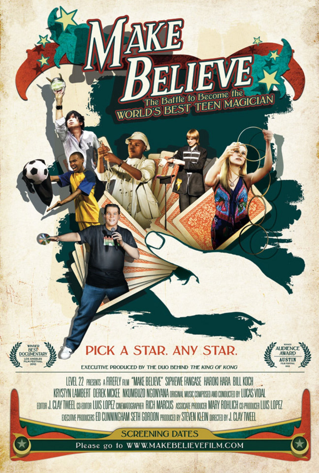 "Filmy o magii:  ""Make Believe"", reż. J. Clay Tweel, 2010 r."