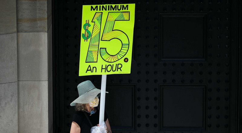 An increase to a $15 minimum wage marks a core component of Biden's new stimulus plan