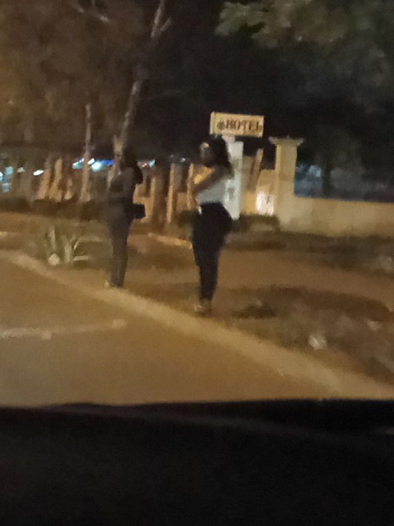 Some girls on the streets of Abuja.