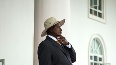 Uganda's Museveni leads much-derided walk against graft