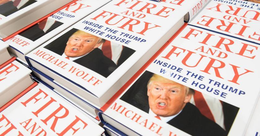 """Premiera """"Fire and Fury"""" została przyspieszona po tym, jak prawnik Donalda Trumpa nakazał wydawcy wstrzymanie wydania"""