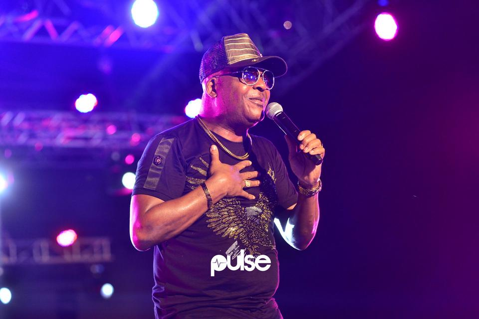 Sir Shina Peters performing live at Gidifest 2019