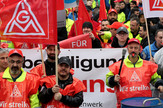 Nemačka, štrajk, EPA -  FRIEDEMANN VOGEL