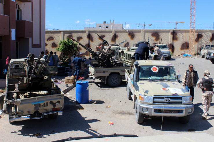Militanti u Tripoliju (foto: ilustracija)