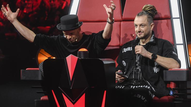 "Tomson i Baron, trenerzy programu ""The Voice Kids"""