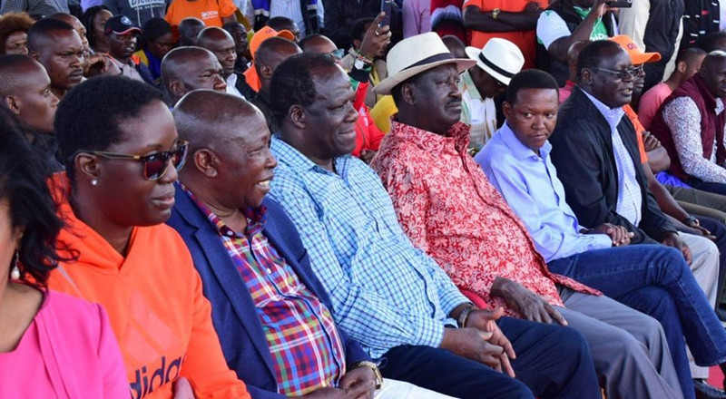 ODM issues a rude response to DP Ruto after his angry rant on Kibra elections