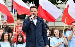 PiS zapowiada skargę na łódzki magistrat w sprawie promocji Trzaskowskiego