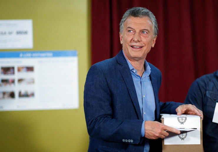 Mauricio Macri foto epa UAN IGNACIO RONCORONI
