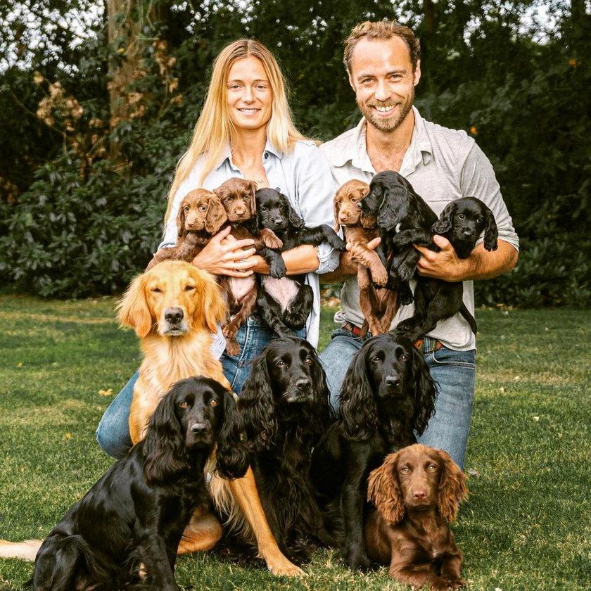 Szczęście w domu Kate i Williama po śmierci wiernego towarzysza