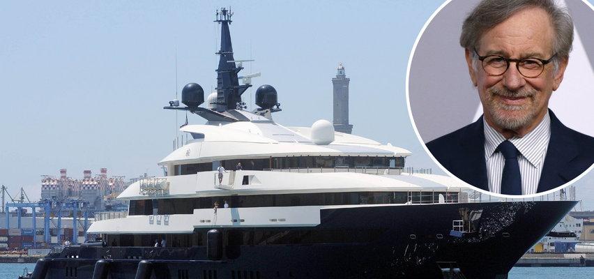Steven Spielberg sprzedaje jacht. Wnętrza robią wrażenie. Co za przepych!