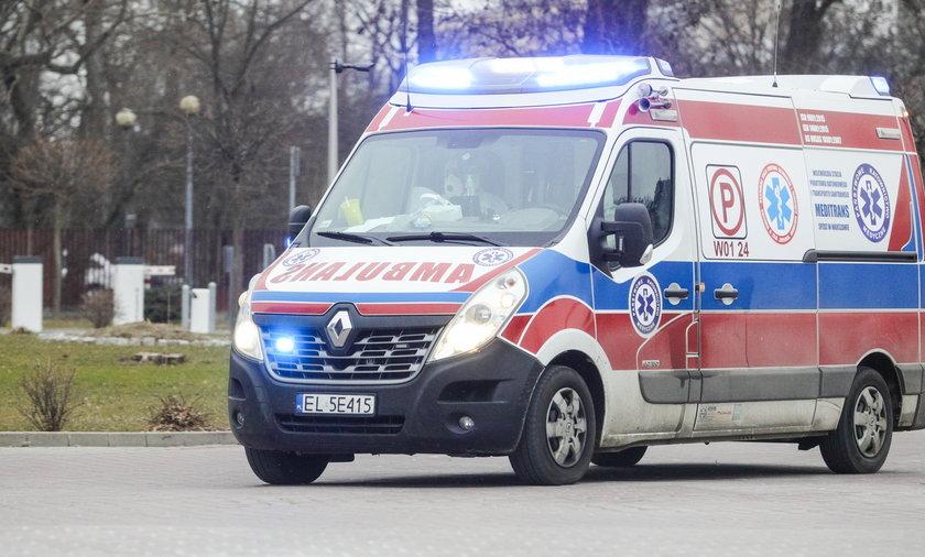 Makabryczny wypadek w fabryce pod Wronkami.