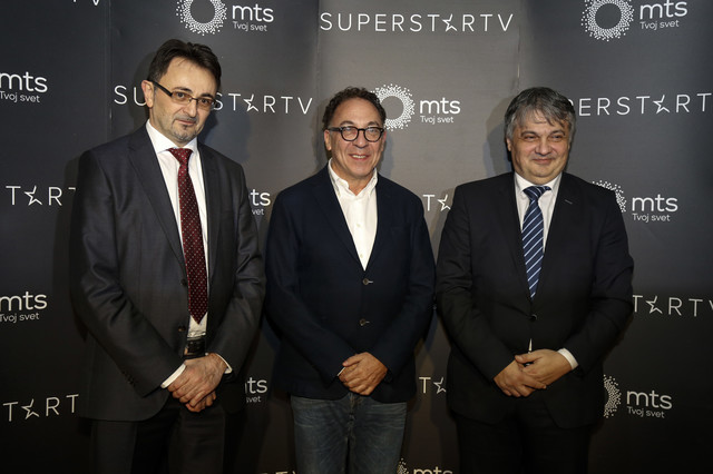 "Pretpremijera serije ""Besa"" - Predrag Ćulibrk, Srđan Šaper, Vladimir Lučić"
