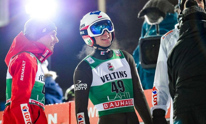 Kamil Stoch w Lahti był piąty