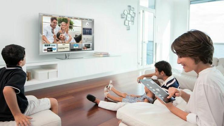 Tablet + TV