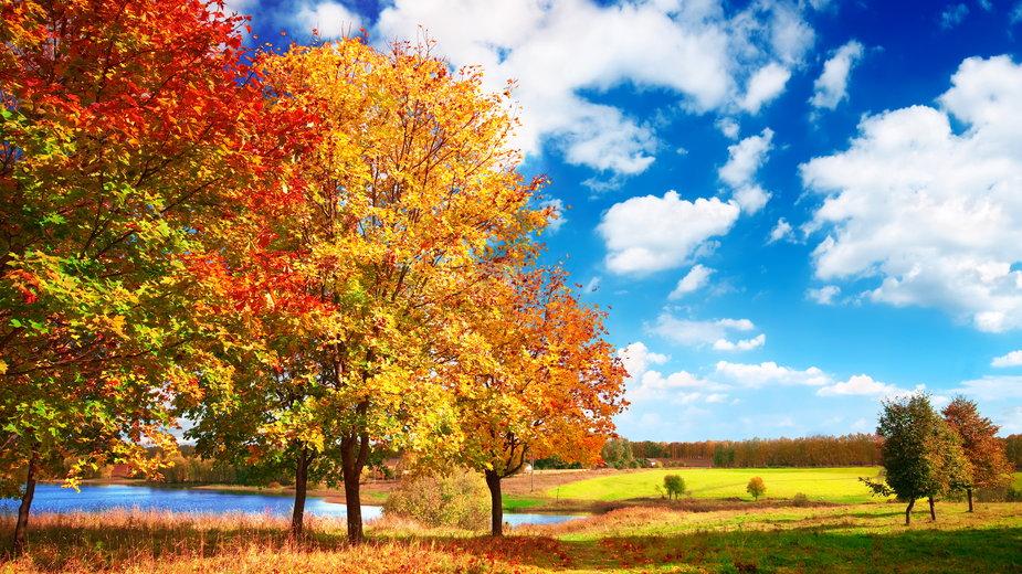 Dlaczego jesienią niebo jest bardziej niebieskie?