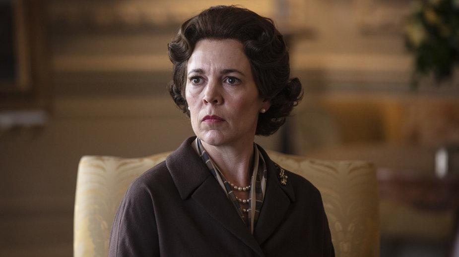"Olivia Colman jako Elżbieta II w ""The Crown"""