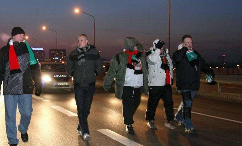 marsz kibiców legii