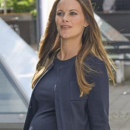 Księżniczka Sofia jest w ciąży. Krągłości ma już naprawdę spore