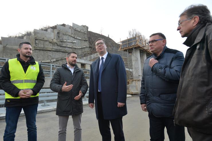 Aleksandar Vucic, Koridor 10, foto Tanjug, Z Žestić