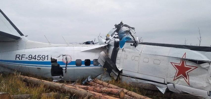 Katastrofa samolotu w Rosji. Nie żyje 15 osób