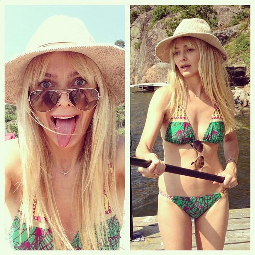 Isabella Scorupco w bikini