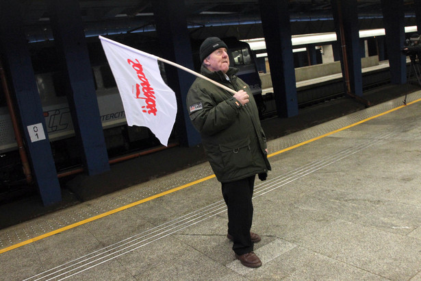 Strajk ostrzegawczy na kolei