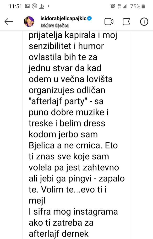 Isidorine poruke