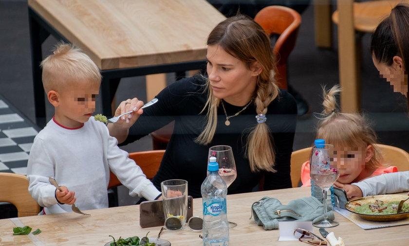 Maja Bohosiewicz, rodzina, dziecko, obiad, dzieci, syn, córka
