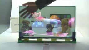 Pierwszy na świecie przezroczysty ekran AMOLED