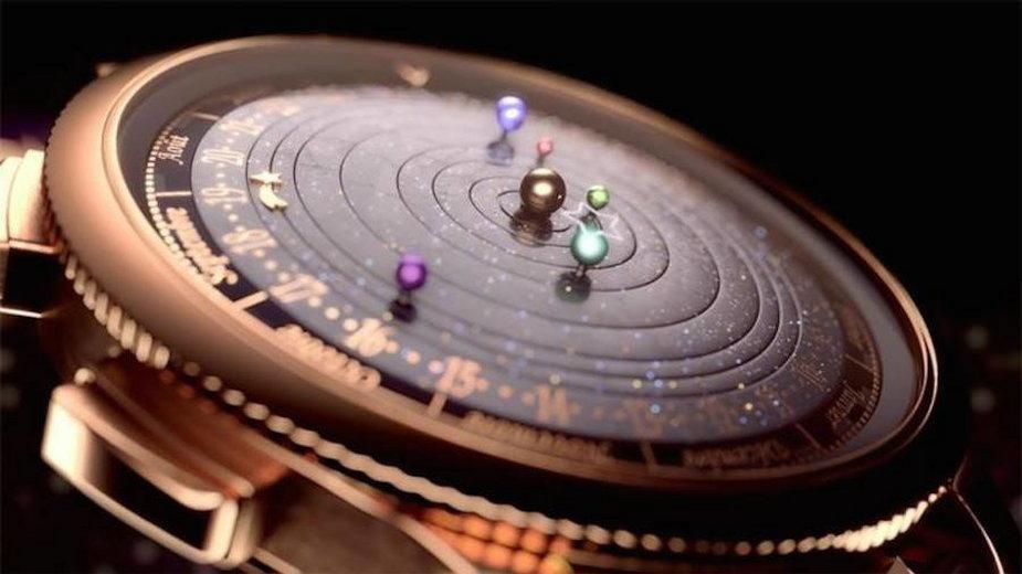 Astronomiczny zegarek