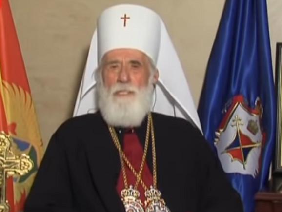 Mitropolit Crnogorske pravoslavne crkve CPC Mihailo