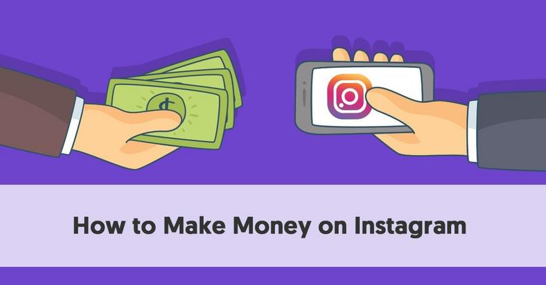 You can make lots of money on Insagram