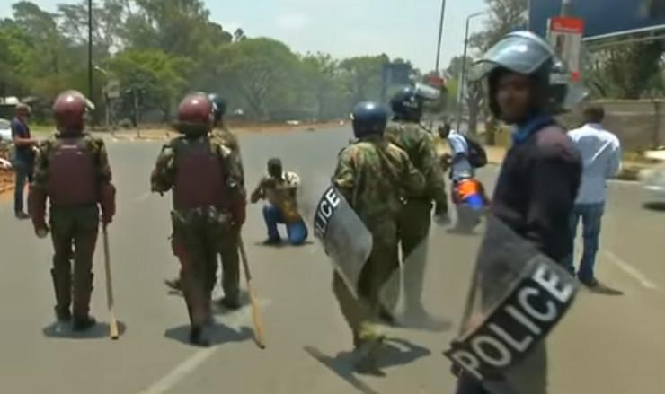 Kenija policija sc youtube