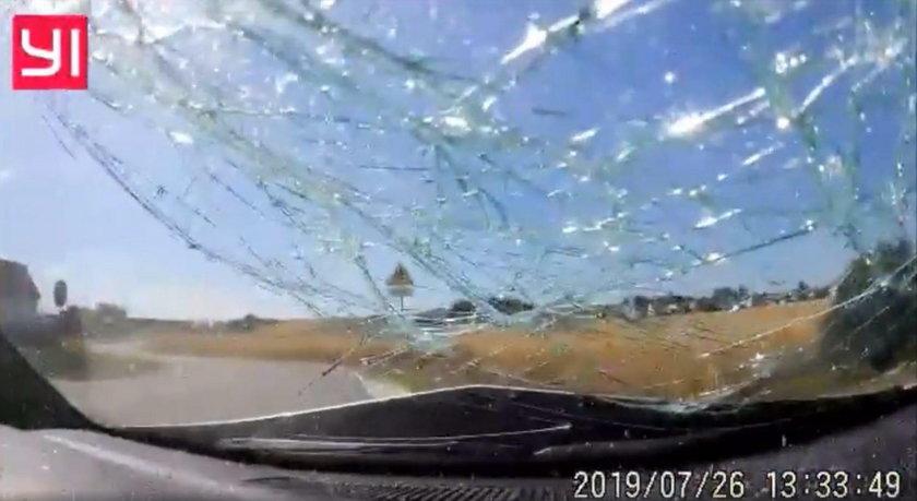 Wypadek w Malni