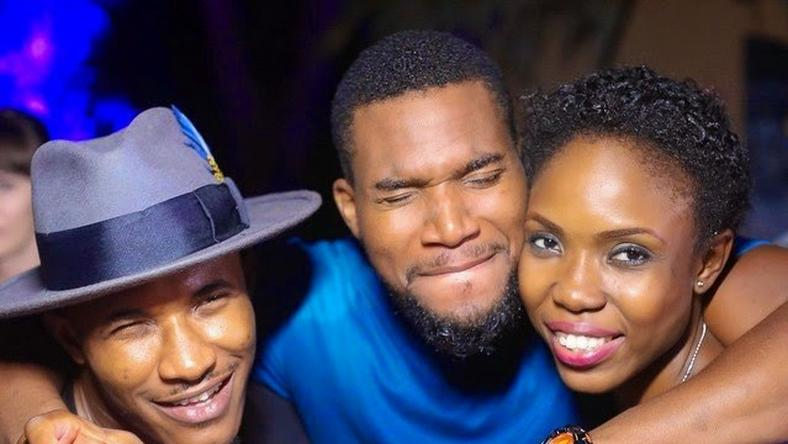 Gideon Okeke, Kunle Rhemmy, Lala Akindoju at the 2014 edition of AFRIFF, which held in Cross River
