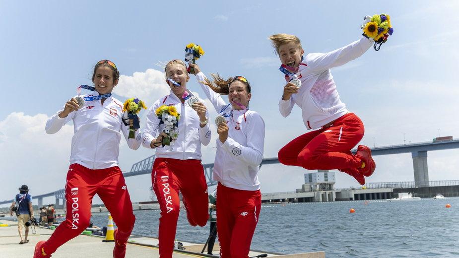 Tokio 2020. Polskie wioślarki zdobyły srebrny medal