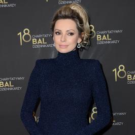 Charytatywny Bal Dziennikarzy: Dorota Gardias w nowej fryzurze