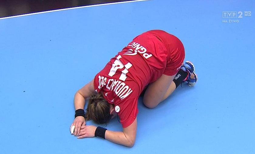 Kapitan reprezentacji zemdlała po meczu z Rosją?