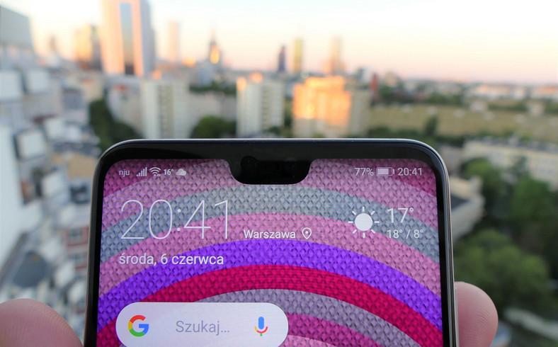 Huawei P20 - notch
