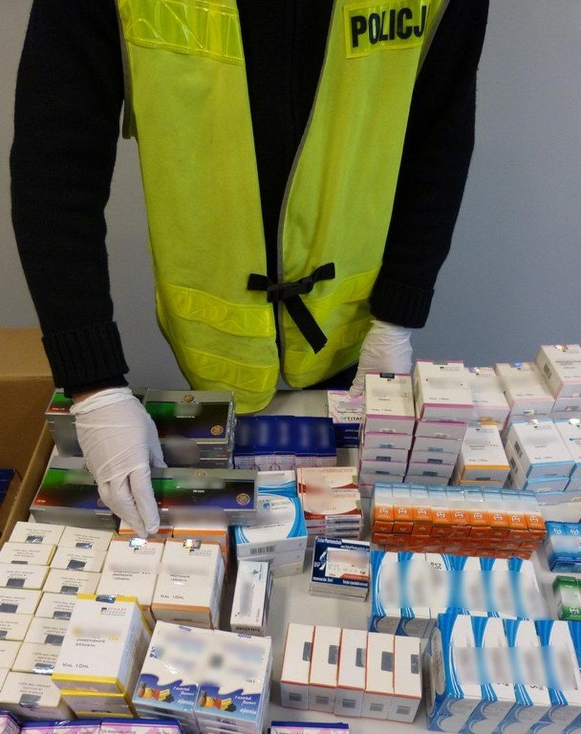Wpadł oszust, który nielegalnie sprzedawał leki