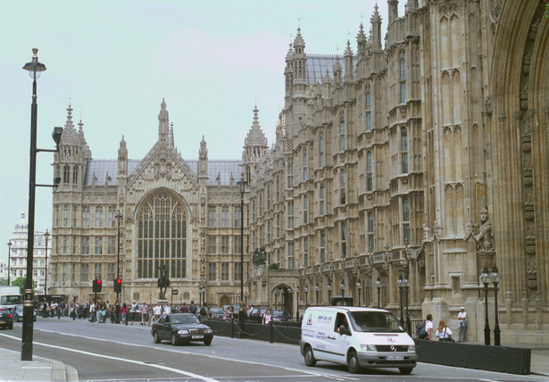 Budynek brytyjskiego parlamentu w Londynie