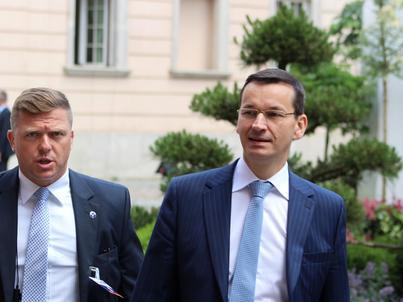 Mateusz Morawiecki jest zadowolony z rozmów USA-Polska