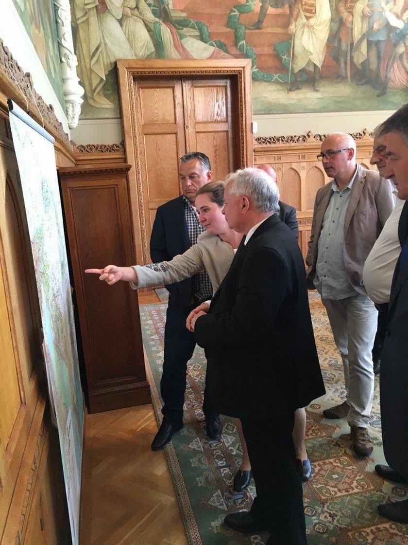 Kaczyński spotkał się z Orbanem
