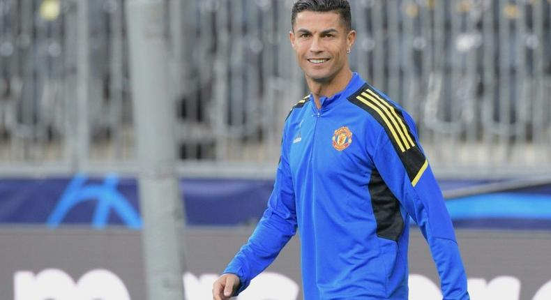 Cristiano Ronaldo will feature for Manchester United in the Champions League for the first time since 2009 on Tuesday Creator: SEBASTIEN BOZON