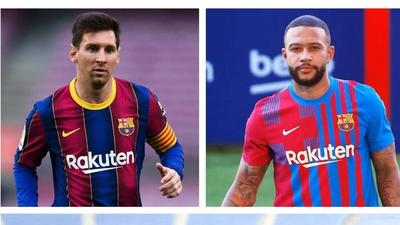 """""""We are compatible and different"""": Depay confident he can play with Messi and Aguero"""