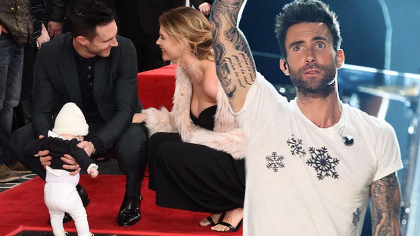 Adam Levine (Maroon 5) i Behati Prinsloo