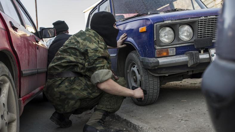 Separatyści zestrzelili ukraiński myśliwiec w rejonie Ługańska