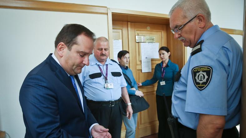 Tomasz Arabski zeznaje w procesie wiceszefa BOR gen. Pawła Bielawnego