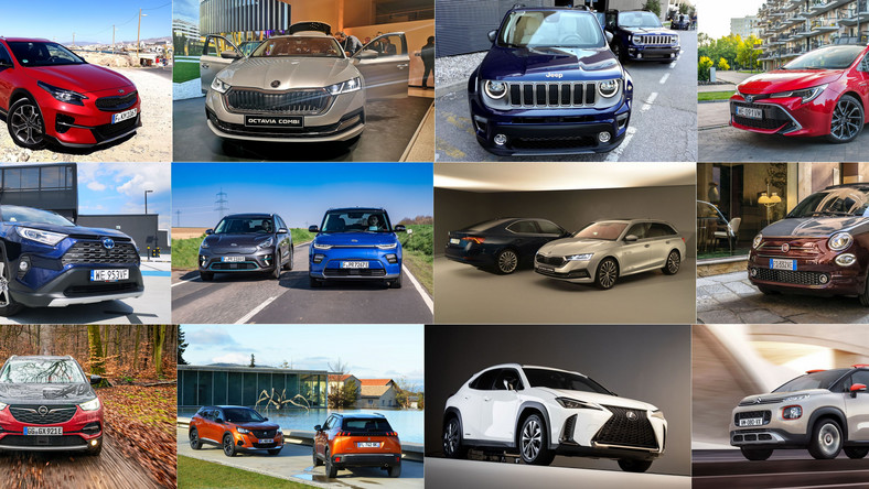 Skoda, Jeep, Fiat, Kia, Toyota, Opel, Peugeot czy Citroen?